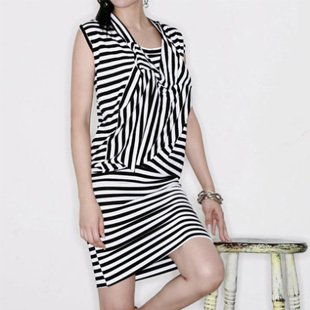 SH0015 - STRIPE DRESS