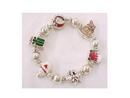 Christmas Stretchy Bracelet
