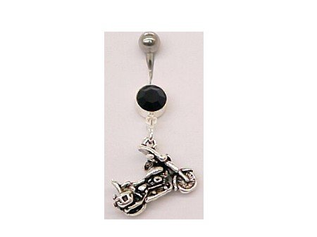 Motorcycle Belly Ring