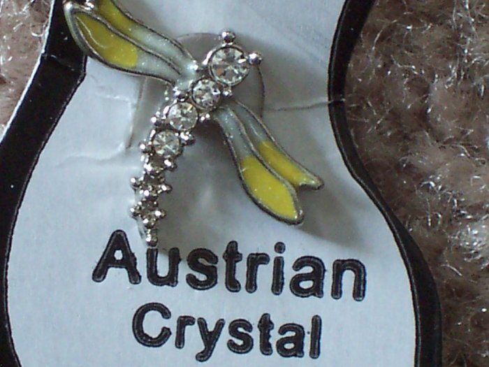 Dragon Fly Toe Ring with Austrian Crystal Buy2Get1Free