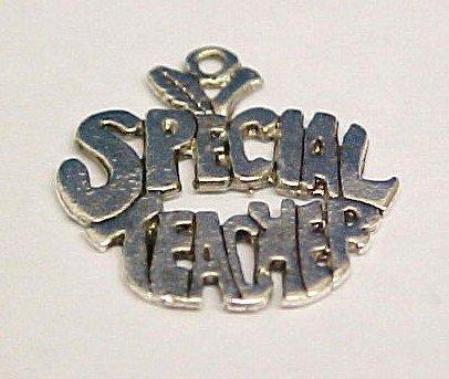 Special Teacher Charm -- CLEARANCE 1/2 OFF