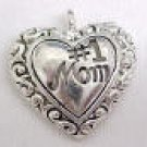 Number 1 Mom Charm -- CLEARANCE 1/2 OFF