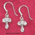 Cubic Zirconia Rain Drop Dangles