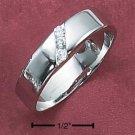 Cubic Zirconia Unisex Ring