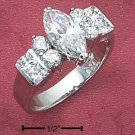 Cubic Zirconia 6x12 Marquise  Ring