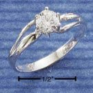 Cubic Zirconia 5mm Round Solitaire