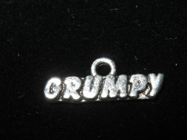 Grumpy Charm -- CLEARANCE 1/2 OFF