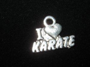 I love Karate Charm -- CLEARANCE 1/2 OFF