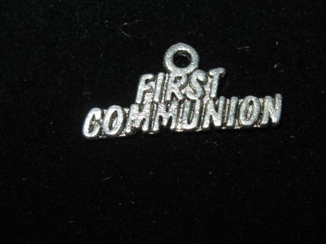 FIRST COMMUNION CHARM -- CLEARANCE 1/2 OFF