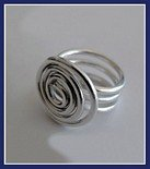 Sterling Silver Twisted Ring #RNG055