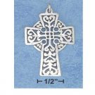 Sterling Silver Filligree Celtic Cross