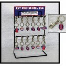 KeyChain Clip with Team Logos For School Fundraising