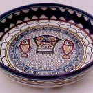 "Loaves and Fishes Armenian Pottery 9"" Bowl"