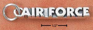 Air Force Charm in Sterling Silver  CH-2705