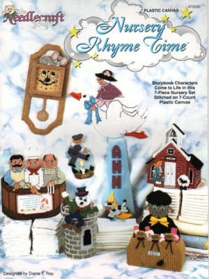 Nursery Rhyme Characters, Plastic Canvas New