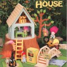 Troll Doll House and Forest, Plastic Canvas NEW