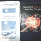Fundamental Accounting Principles Textbook with 2 Solutions Manuals 16th Ed. 2001