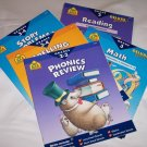 School Zone Home Learning Workbooks-Lot 5 books Grade 2-4