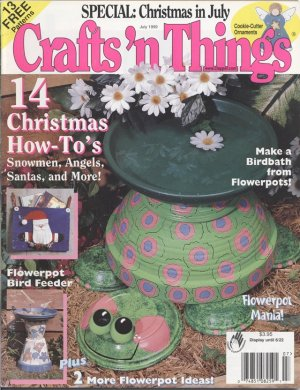 Crafts �n Things, Crafts Projects Magazine July 1999