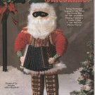 Old World Santa Julebukker, Plastic Canvas Pattern, New