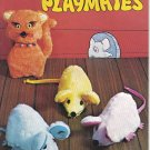 Plush Pelt Playmates, Sew Stuffed Faux Fur Animals Booklet