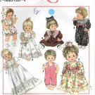 "Baby Doll Wardrobe, Three Sizes of Dolls 12-22"" Simplicity Sewing Pattern 8099 NEW"