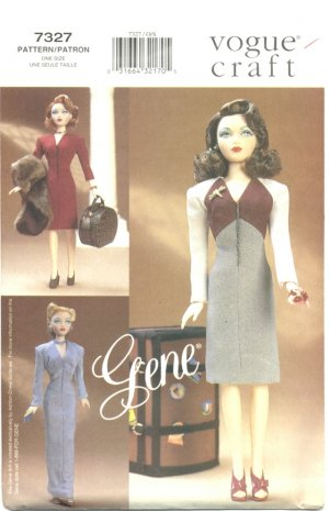 Gene, Madra Fashion Pattern, Vogue 15 ½� (39.5cm) doll 7327 NEW