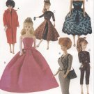 Barbie Retro 60's Fashions Sewing Pattern Vogue Craft  7108 NEW
