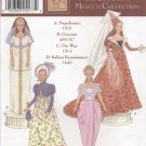 Barbie Historical Costumes, Simplicity Musuem Collection 7089 NEW