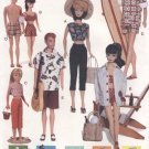 Barbie, Ken, Skipper 60's Retro Beach Fashions, Vogue Craft 7070  NEW
