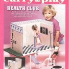 Barbie Fashion Doll Carry & Play Health Club Plastic Canvas NEW
