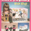 Barbie Fashion Doll Carry & Play Soda Shop Plastic Canvas NEW