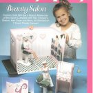 Barbie Fashion Doll Carry & Play Beauty Salon Plastic Canvas NEW