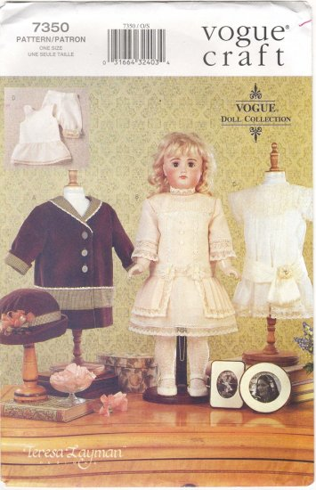 Heirloom Styled Doll Clothes  For Magic Attic, American Girl 18 (45.7cm) inch dolls 7350