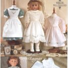 "Doll Heirloom Style Dresses Pattern, 18"" (45.5cm), NEW 9984"
