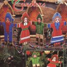 Victorian Carolers Christmas Ornaments Pattern Plastic Canvas
