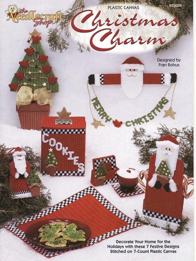 Christmas Charm Home Decor Ornaments Pattern Plastic Canvas