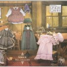 "Early American Doll Clothes Pattern 18"" (45.7cm)  Vogue 8337  NEW"