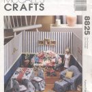 Barbie, Fashion Doll Sewn Living Room Diorama, Mc Call's Craft 8825 NEW