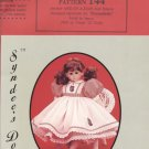 "Melinda dress pattern for 22"" porcelain doll, Syndee's Dolls, 144 NEW"