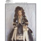 "French Fashion 1880's style dress for 18"" lady doll, Brown House Dolls,  BHD1439 NEW"