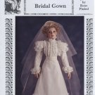 "Lynette Bridal Gown, 1890's, Rose Pinkul Original for 26"" porcelain doll, RP-324 NEW"