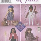 "Magic Attic 18"" (45.5 cm) Doll Outfits, Simplicity Crafts 8541"