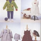 "Doll Wardrobe for 23"" (58.4 cm) Soft Dolls Butterick 6373 NEW"