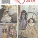 "Soft Doll Pattern for 25"" (63.5 cm) Dolls Simplicity Crafts 9620 NEW"