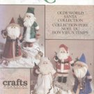 "Olde World Santa Collection Doll Pattern for 18"" (45.7cm) Dolls Simplicity Crafts 7598 NEW"