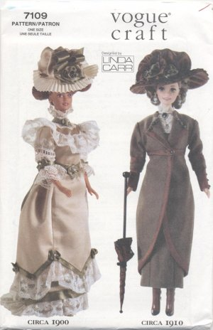 Barbie 11 ½� Fashion Doll Early 20th Century Vogue Craft 7109 NEW