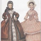"Barbie 11 ½"" Fashion Doll Civil War Era Gowns Vogue Craft 7352 NEW"