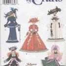 "Barbie 11 ½"" Fashion Doll Gay 90's Fashions Simplicity Crafts 9062 NEW"
