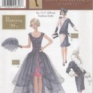 "Barbie 11 ½"" Fashion Doll 1920's Historical Outfits Simplicity Doll Collection 9654 NEW"